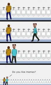 Bathroom Stall Meme - urinal etiquette know your meme