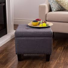 Padded Storage Ottoman Ksp Whitney Upholstered Storage Ottoman Grey Kitchen Stuff Plus