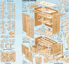 furniture wood work plans office desks chairs corner tabels tv