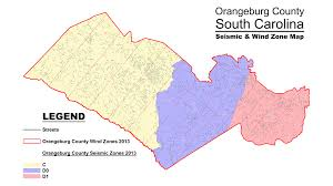 South Carolina County Map Orangeburg County South Carolina Permitting And Inspection Department