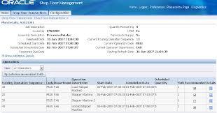 Machine Shop Floor Plan Oracle Shop Floor Management User U0027s Guide
