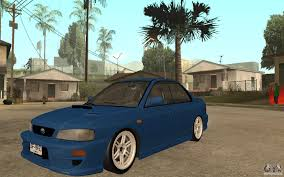 subaru gc8 coupe subaru impreza gc8 jdm spec for gta san andreas