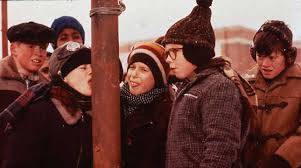 A Christmas Story Meme - miley cyrus licks a pole ruins a christmas story