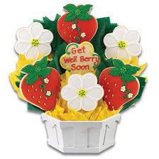 get well soon cookies personalized get well soon cookie bouquet cookies by design
