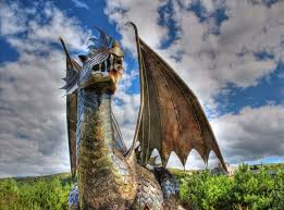 Why Does The Welsh Flag Have A Dragon Dewi The Dragon Guardian Of Castle Harlech And Coolest Dragon On