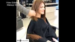 hair makeover videos extreme hair makeover long to short long hair cutting videos for
