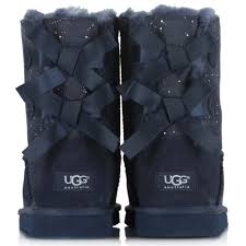 ugg bailey bow black sale styles ugg kid bailey bow constellation print navy