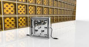 to generate their own power with innovative glass blocks
