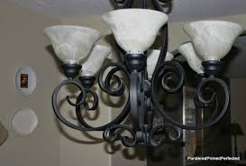 Pottery Barn Chandelier Shades Pondered Primed Perfected Burlap Chandelier Shades Made By Me