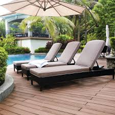 Lounge Lawn Chairs Design Ideas Exterior Beautiful Pati Design Ideas With 3 Chaise Lounge Outdoor
