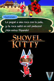 Animal Crossing Meme - animal crossing meme shovel kitty by viraltyphlosion on deviantart