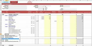Home Building Cost Estimate Spreadsheet by Estimate Sheet Contractors And Borrowers Estimate Sheet