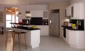 cuisine avec bar am駻icain modèle de cuisine avec ilot central collection avec modele de