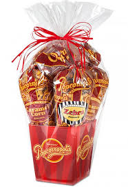 popcorn gift baskets classic 5 cone popcorn gift basket popcornopolis