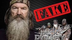 Phil Robertson Memes - duck dynasty is fake youtube