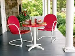 patio wonderful steel patio chairs retro metal outdoor furniture