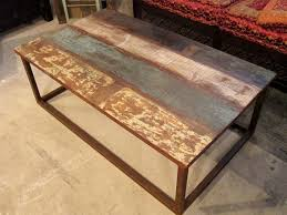 Rustic Metal Coffee Table Charming Rustic Metal Coffee Table Best Images About Coffee Table