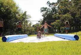 Backyard Slip N Slide Inflatable Boat Dock Slide U2013 Funair
