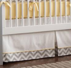Gray And Yellow Crib Bedding Grey And Yellow Crib Bedding Home Design And Decoration