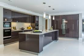 black gloss kitchen ideas kitchen modern gloss kitchen cabinets ideas design images