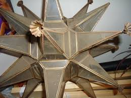 Moravian Star Ceiling Mount by Antique Moravian Star Light Fixture All About Lamps Ideas