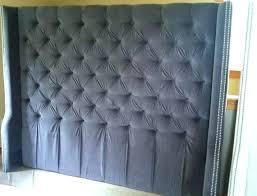 Tufted Wingback Headboard King Grey Velvet Tufted Headboard Coral And Gray Bedroom Grey Bedroom