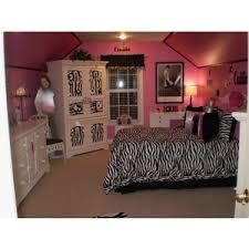 Zebra Print Room Decor Girls Bedroom Ideas Zebra Interior Design