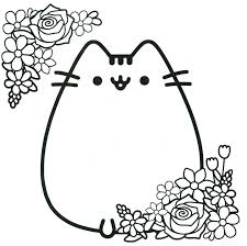cat coloring pages images coloring pusheen coloring pages with coloring pages of nyan cat