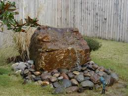 Rock Garden With Water Feature Outdoor Water Features Ideas In Brilliant 1 Back Yard Water Falls