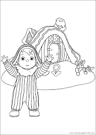 andy pandy house color andy pandy coloring pages