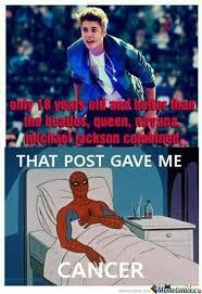 Spiderman Meme Cancer - it gave spiderman cancer by maroin33 meme center