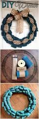 diy wreath projects 50 easy diy wreath ideas diy u0026 crafts