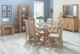 dining table glass top 6 chairs home and furniture