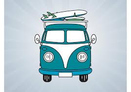 volkswagen van art volkswagen bus vector download free vector art stock graphics
