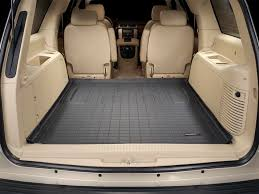 gmc yukon trunk space 2011 gmc yukon xl yukon denali xl cargo mat and trunk liner for
