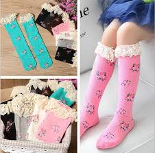 cute stockings cute long socks girls stockings knit knee boot high socks children