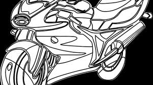 drawings of motorbikes free printable motorcycle coloring pages