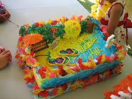 luau birthday party s hawaiian luau birthday party cake my usuall flickr
