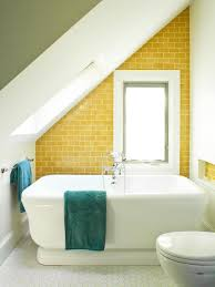 Bathroom Tile Design Ideas Sunny Yellow Bathroom Design Ideas Megjturner Com