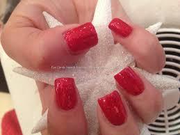 acrylic nails red u2013 slybury com