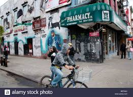 wall mural in east harlem near 125th street new york city stock stock photo wall mural in east harlem near 125th street new york city
