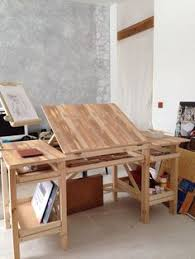 drafting table fine woodworking idea for adding shelves to my