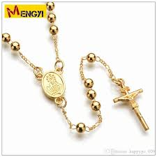 diy rosary wholesale jesus cross rosary necklace diy hiphop hiphop