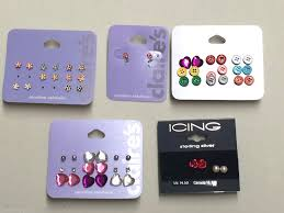 post style earrings details about claires earrings lot s icing 28 pairs post