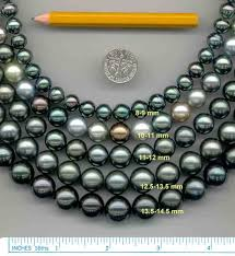 pearl size necklace images Pearl size information jpg