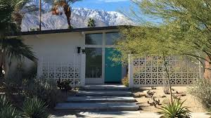 restoring a neglected tract home to midcentury glory in palm
