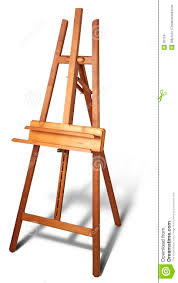 painter easel cerca con flor drawing