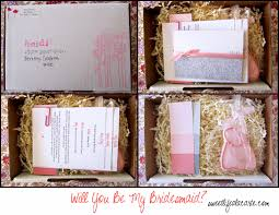 Cute Will You Be My Bridesmaid Ideas The Bridal Solution November 2013