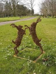 the 25 best garden sculpture ideas on lawn