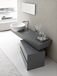 White Modern Bathroom Vanity by Elegant Minimalist Bathroom Furniture With Natural Materials